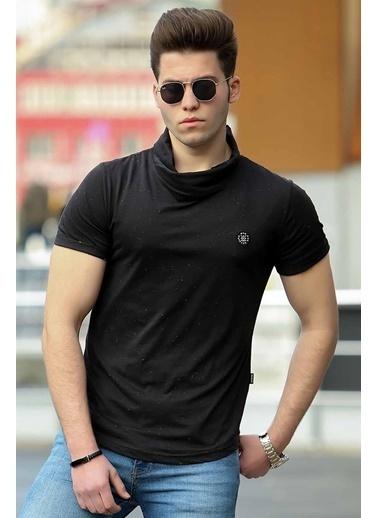 Madmext Tişört Siyah
